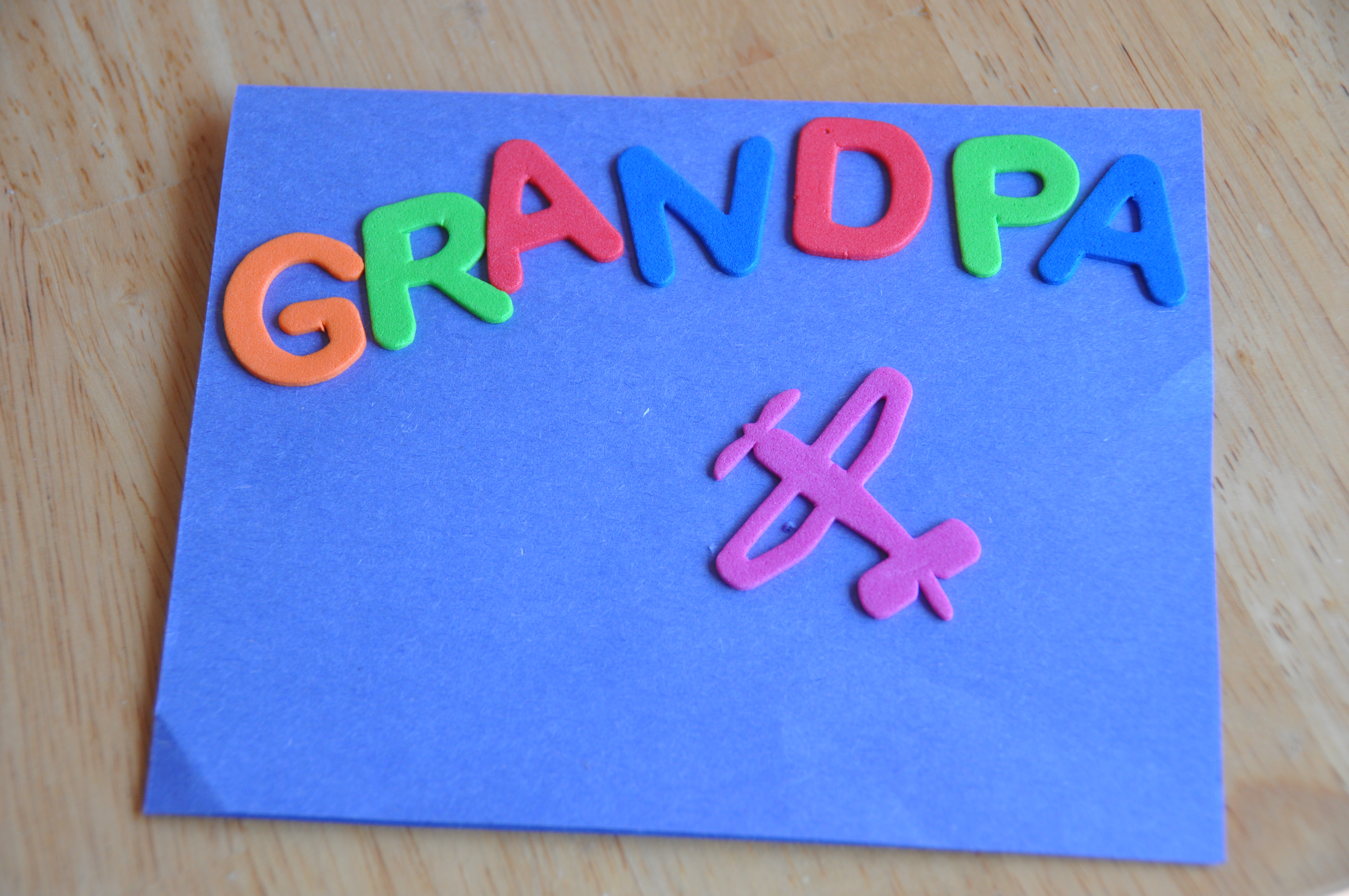 Ideas For Birthday Cards For Grandpa Homemade Cards Fun Engaging Activities For Toddlers