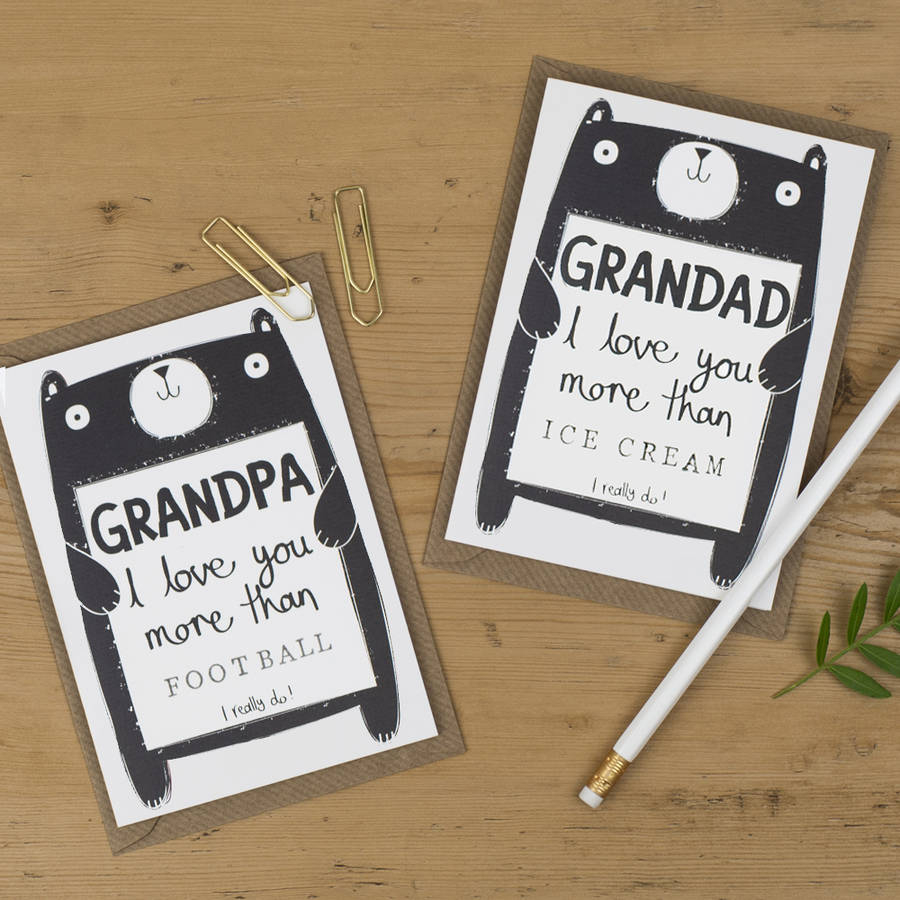 Ideas For Birthday Cards For Grandpa Personalised Birthday Card For Grandad