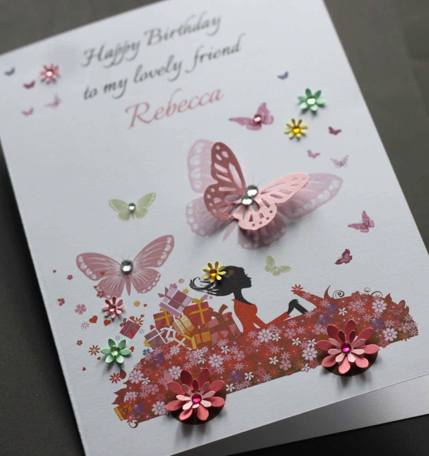 Ideas For Making Birthday Cards At Home A5 Handmade Personalised Cute Car Birthday Card Sister Friend Daughter Mum