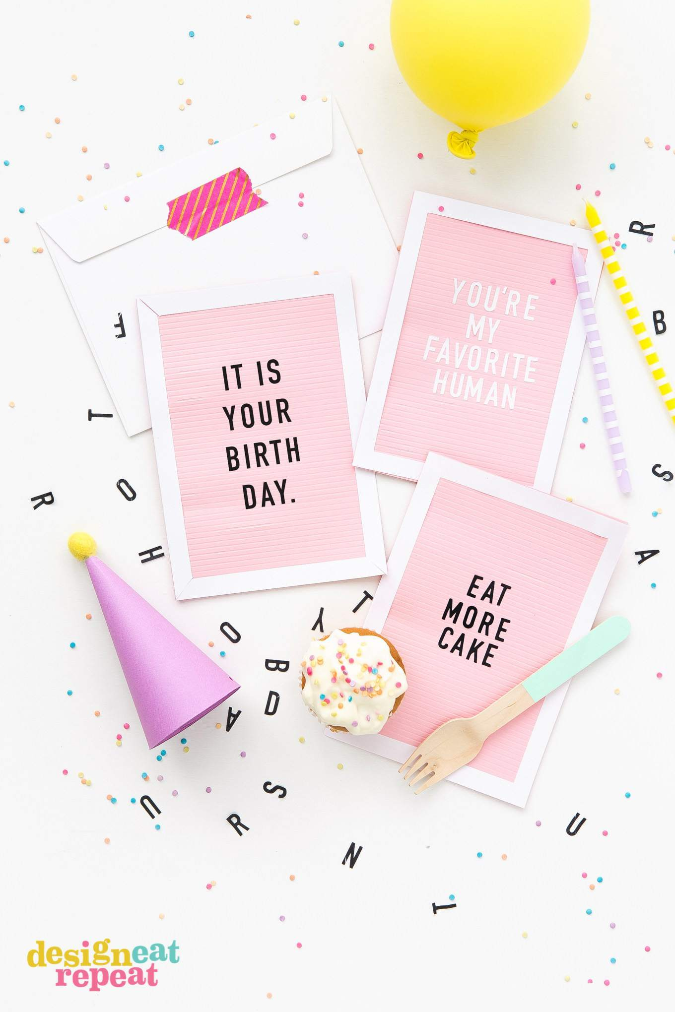 Ideas For Making Birthday Cards At Home Get Inspiration From 25 Of The Best Diy Birthday Cards