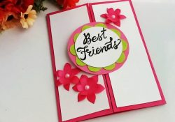 Ideas For Making Birthday Cards For Friends How To Make Special Card For Best Frienddiy Gift Idea