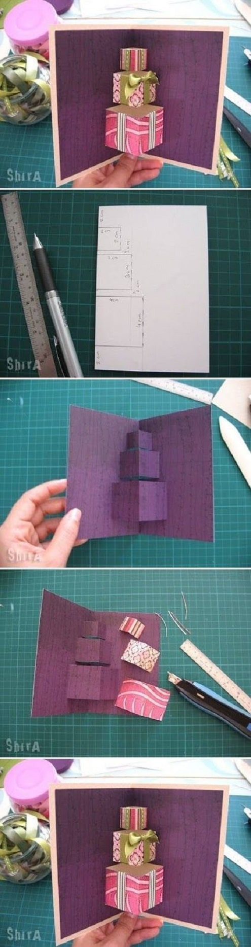 Ideas Of Making Birthday Cards 32 Handmade Birthday Card Ideas And Images