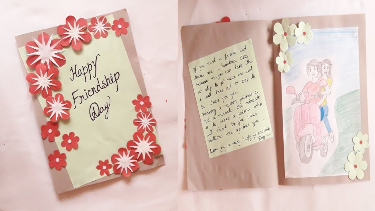 Ideas To Make A Birthday Card For A Best Friend How To Make A Birthday Card For Friend Easy Happy Birthday Cards For