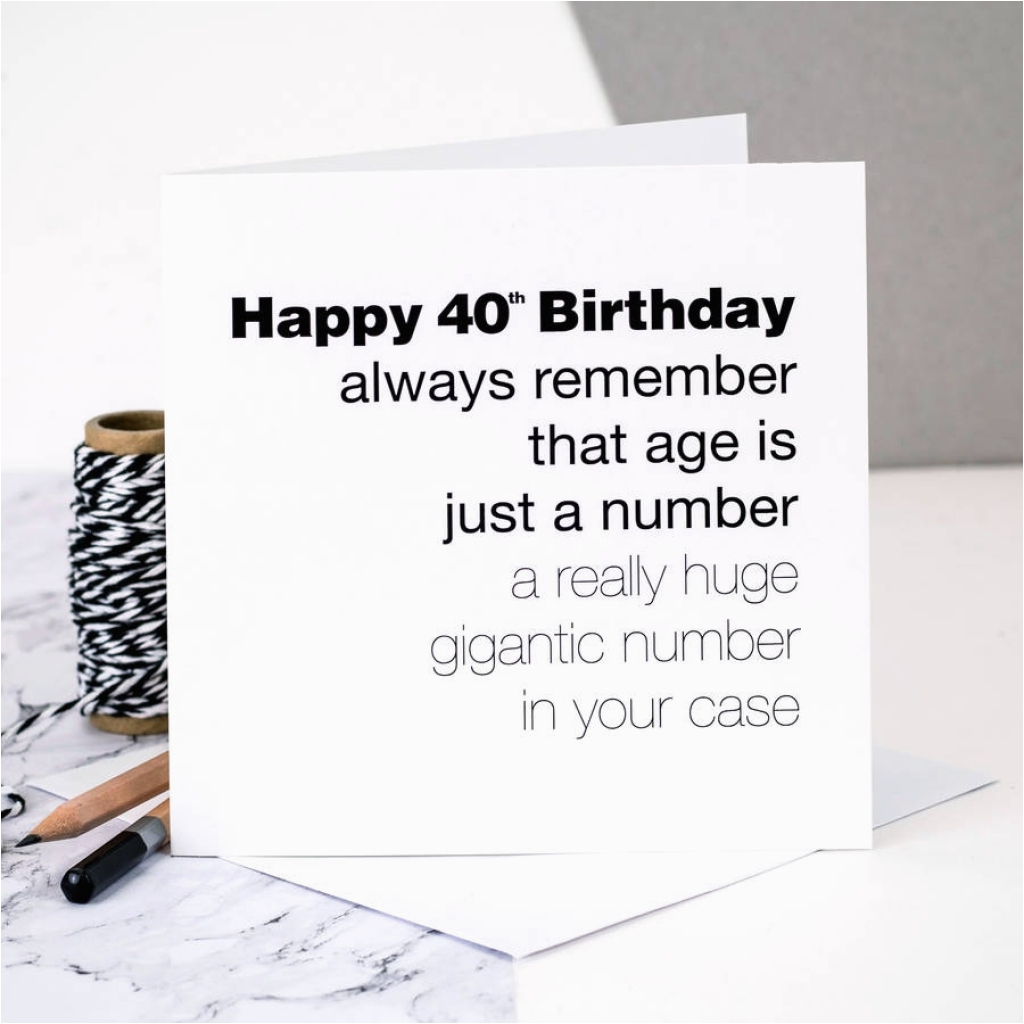 Ideas To Write In Birthday Cards Funny Things To Write In A 40th Birthday Card Things To Write In A