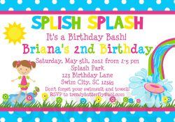 Invitation Card Ideas For Birthday Party Invitation Birthday Party Card Birthdayorganizer