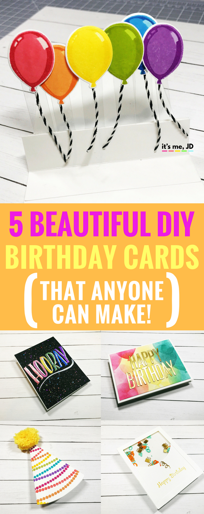 Make Your Own Birthday Card Ideas 5 Beautiful Diy Birthday Card Ideas That Anyone Can Make
