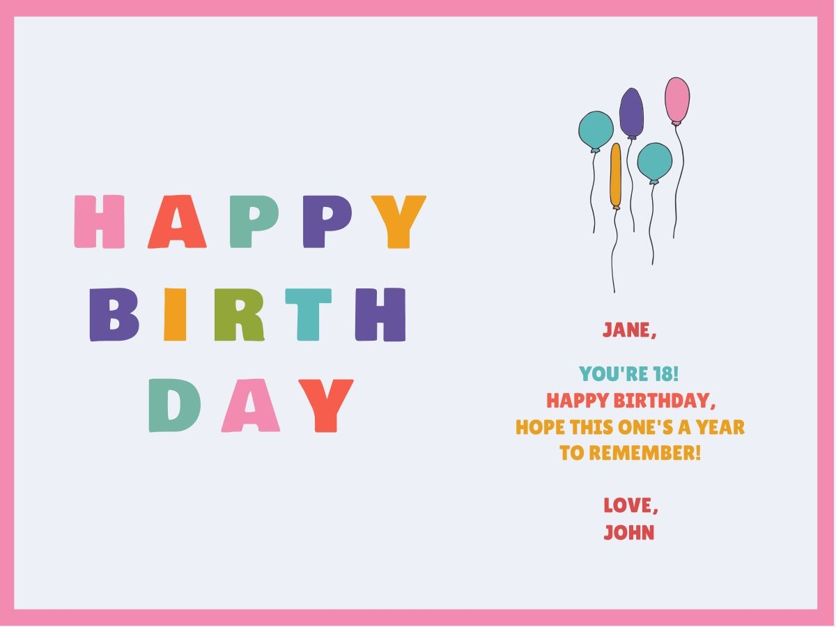 Make Your Own Birthday Card Ideas Customize Our Birthday Card Templates Hundreds To Choose From