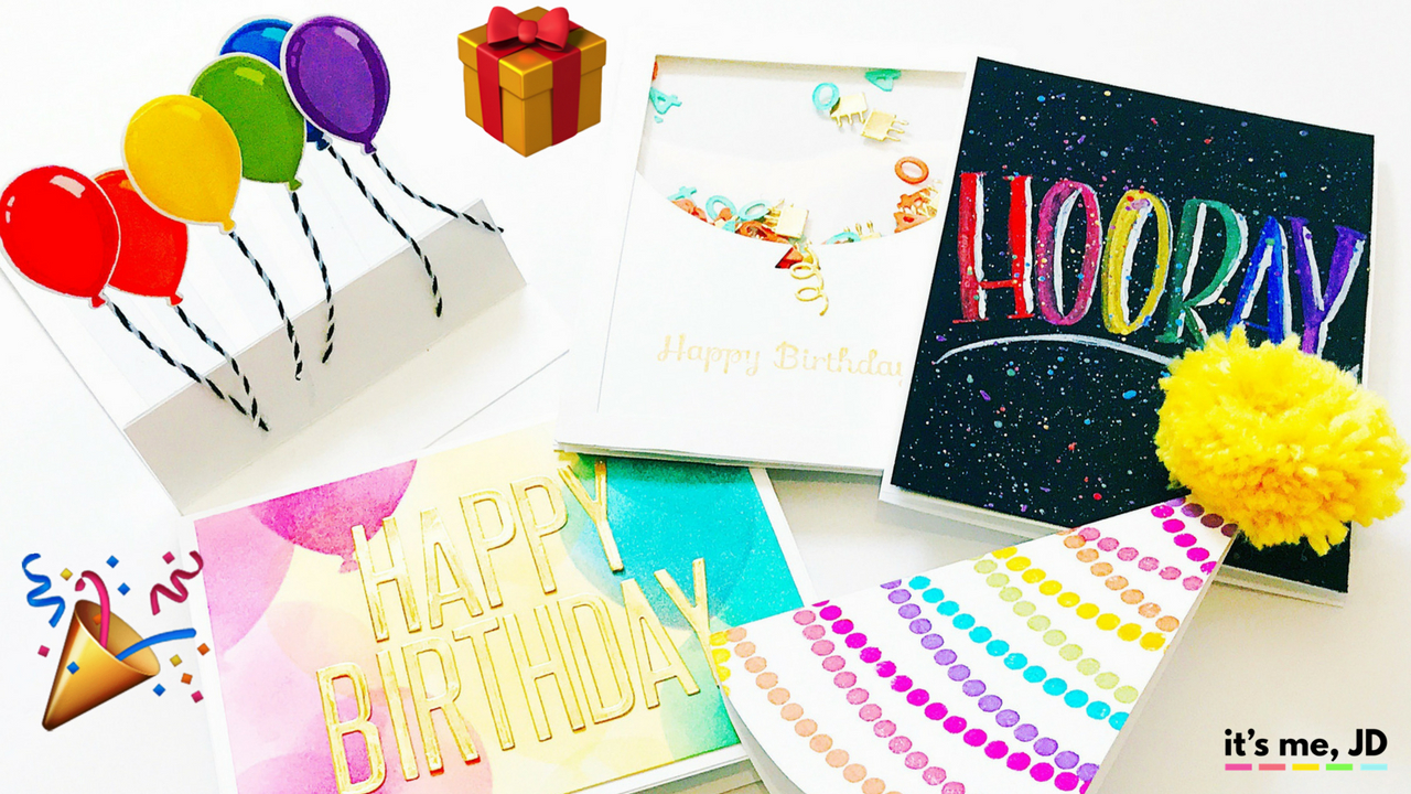 Making Birthday Card Ideas 5 Beautiful Diy Birthday Card Ideas That Anyone Can Make