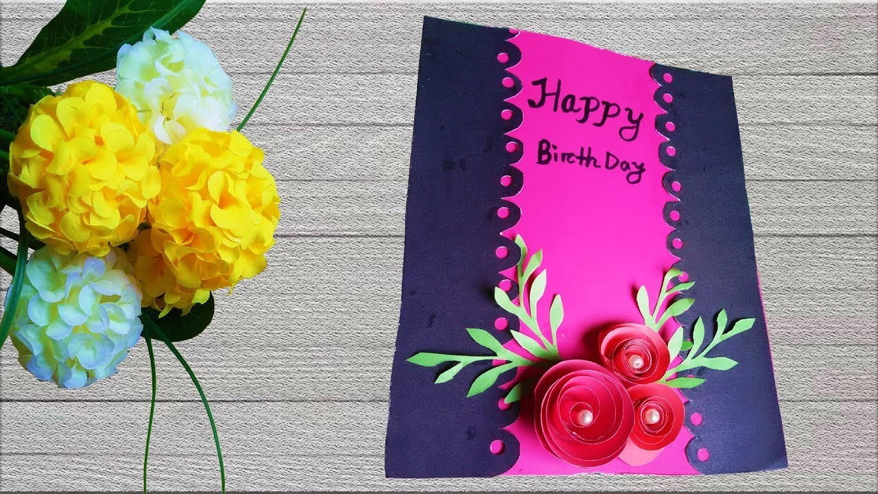 Making Birthday Card Ideas Beautiful Handmade Birthday Card Making Ideas 5 Birthday Greeting