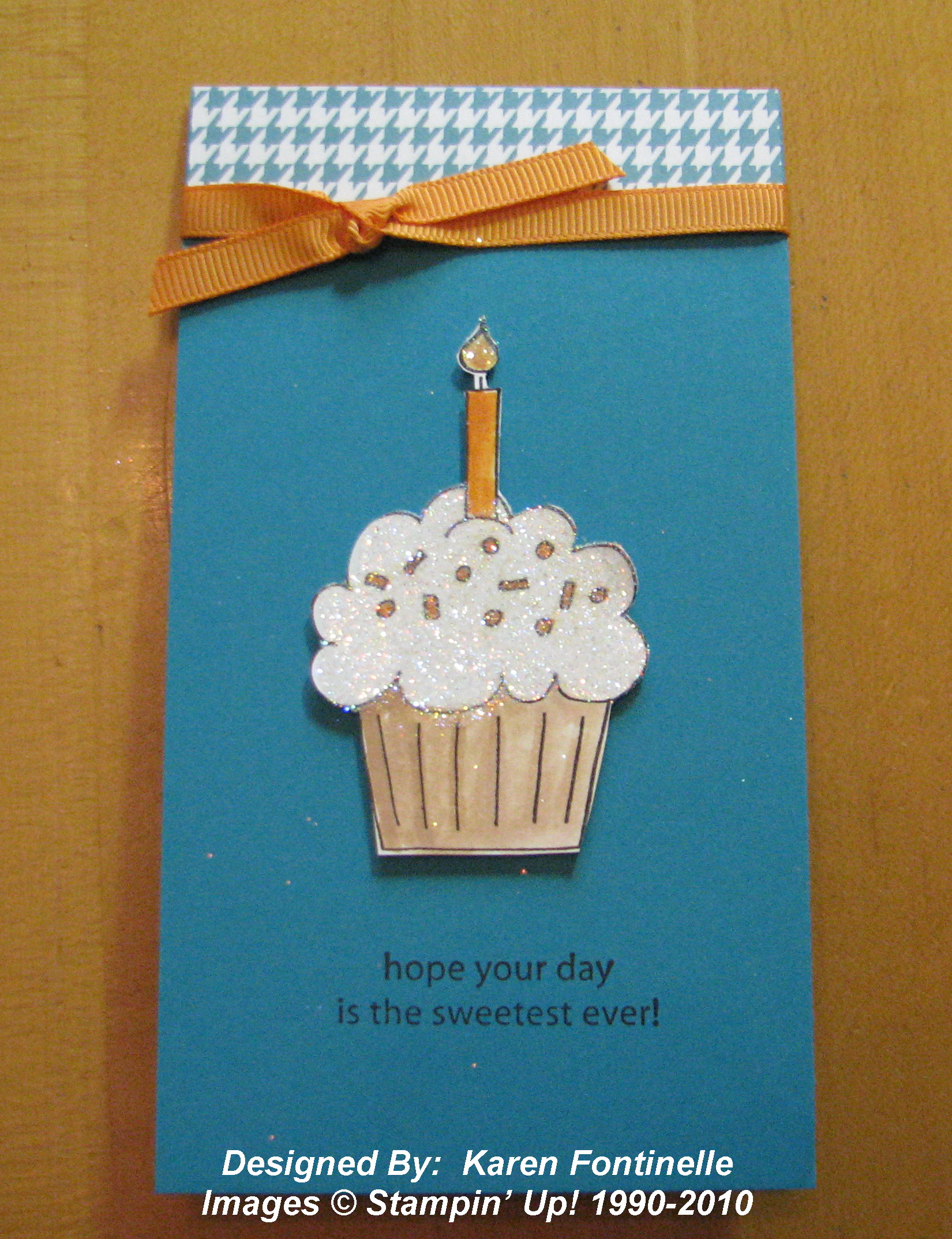 Making Birthday Cards Ideas A Simple Birthday Card Stamping With Karen