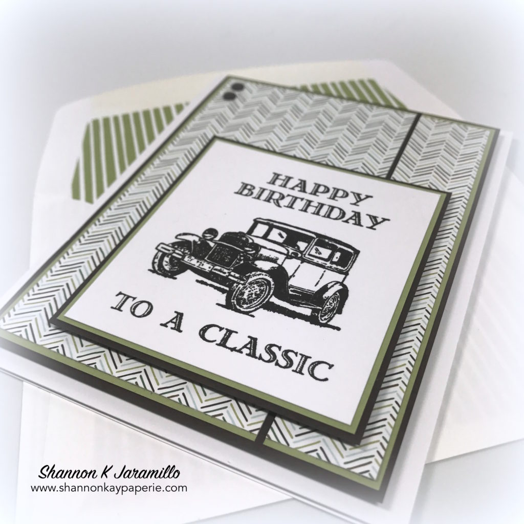 Mens Birthday Card Ideas Happy Birthday To A Classic Shannon Kay Paperie