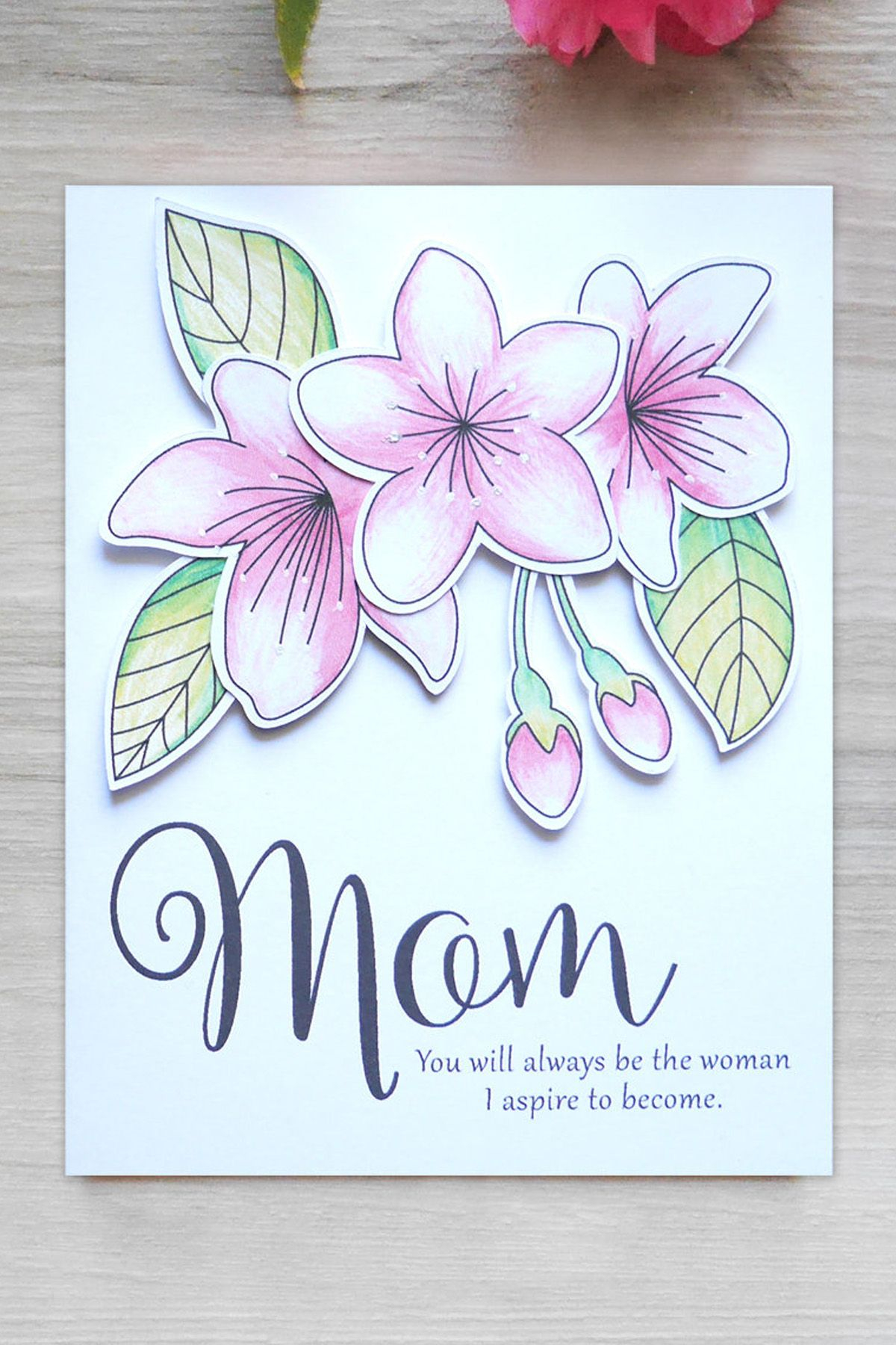Mothers Birthday Card Ideas Mothers Day Card Ataumberglauf Verband