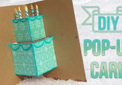 Pop Up Card Ideas Birthday How To Make A Simple Pop Up Birthday Card