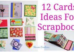 Scrapbooking Birthday Card Ideas How To Make Scrapbook Pages 12 Birthday Card Ideas Diy Birthday Scrapbook Part Two